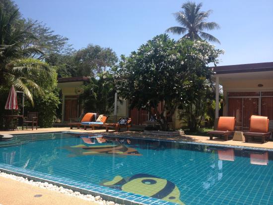 بوكيت سي ريزورت: One of the two pools