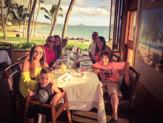 Five Palms Lahaina : Our group in our perfect corner
