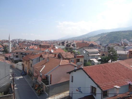 City Hostel : Вид с крыши на город