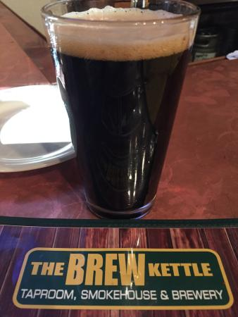 Strongsville, OH: This their Kitka Milk Stout - Coconut and Chocolate flavor.