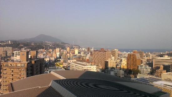 OITA OASIS TOWER HOTEL: Вид на город