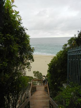 Table Rock Beach: la scaletta  per arrivarci