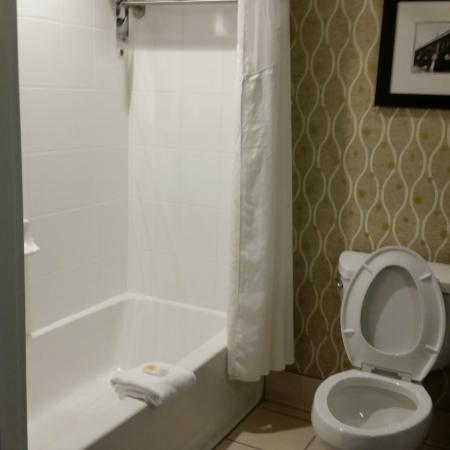 Holiday Inn & Suites Columbia - Airport: nicely remodeled bathroom