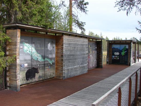Ljusdal, İsveç: Informatieborden park