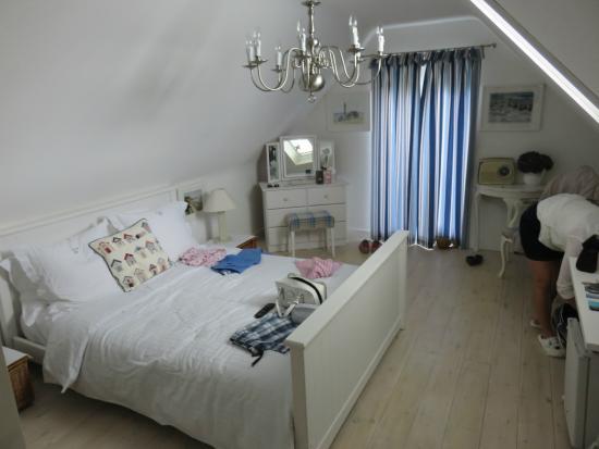 Loft room at Valley Cottage