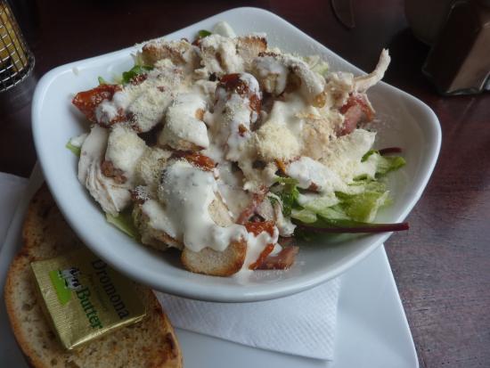 Cafe Soul: The Half Portion Of Our Caesar Salad