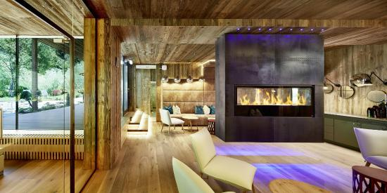 Alpin Lodge Das Zillergrund: Natur Spa Lounge