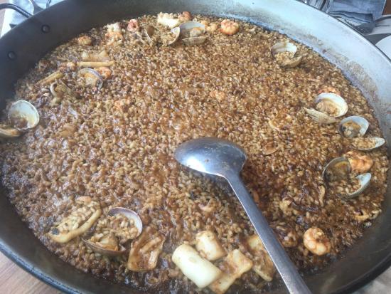 Arroz con gambas y almejas picture of pez vela - Arroz con gambas y almejas ...