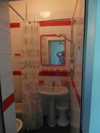 Hotel Niagara Rimini : Bathroom wet room