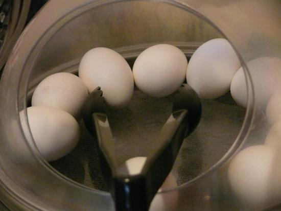 La Quinta Inn & Suites Wenatchee: Hard boiled eggs