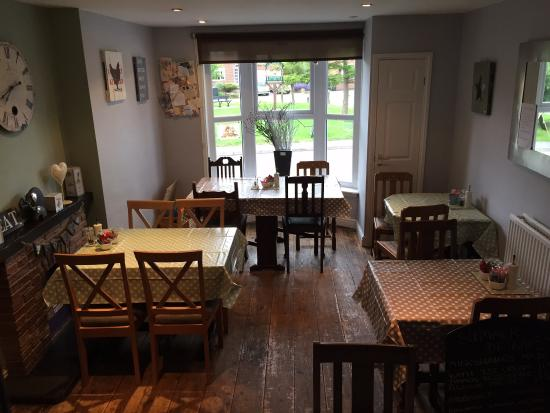 Cafe & Deli On The Sands: Newly decorated cafe area June 15