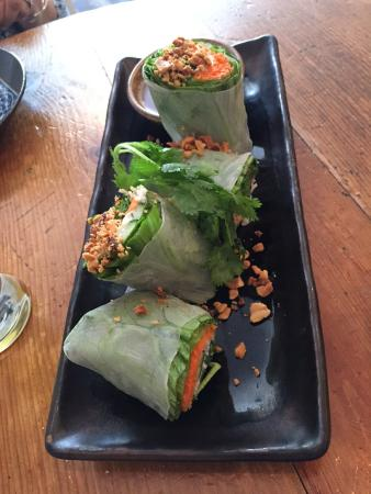 Long Grain: Outstanding spring rolls!
