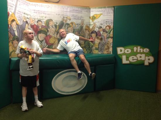 The Children's Museum of Green Bay: The Lambeau Leap