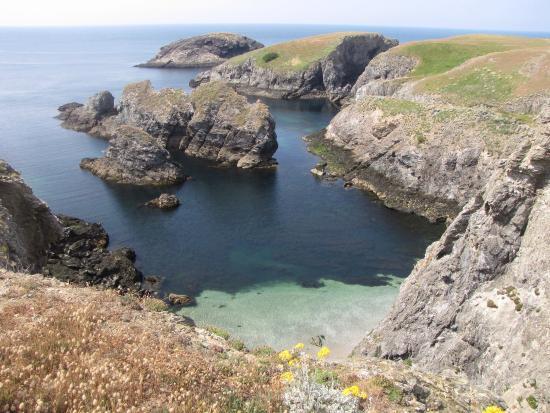 Bangor, Francia: sentier côtier aiguilles des cotons