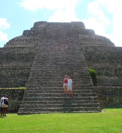 Mayan ruins, Costa Maya