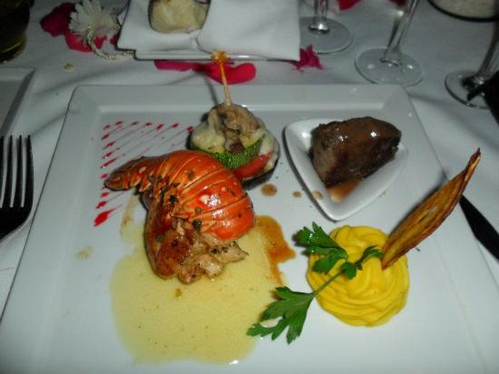 Cena en Restaurante Playacar Palace