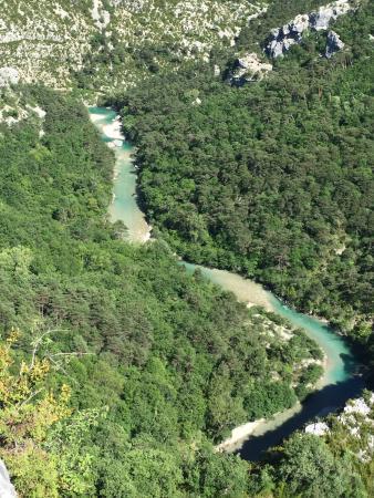 La Palud sur Verdon, Frankrig: Route des Cretes La Palud