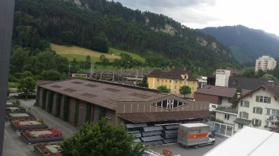 Montfort das Hotel: Vista do apartamento...