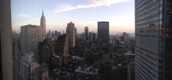 Hilton Times Square: Room with a view!