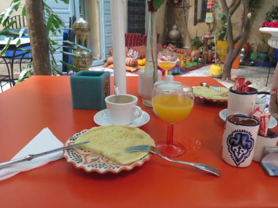 Riad Al Nour: Un desayuno perfecto