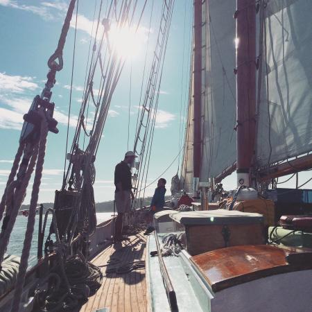 San Juan Classic Day Sailing : What an adventure!  Chartered the Dirigo II for a late afternoon adventure with the family.  Cap
