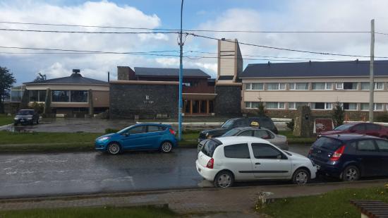 Hotel Las Lengas : La vista del hotel desde enfrente