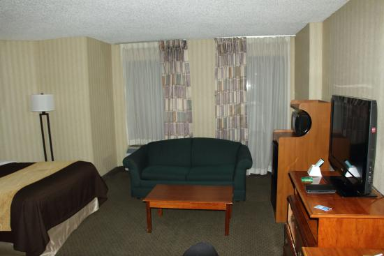 Comfort Inn Pentagon City: Hotel has not redecorated since the 1980s