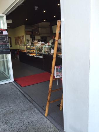 Coolum Beach, Australia: Freddy's serving area