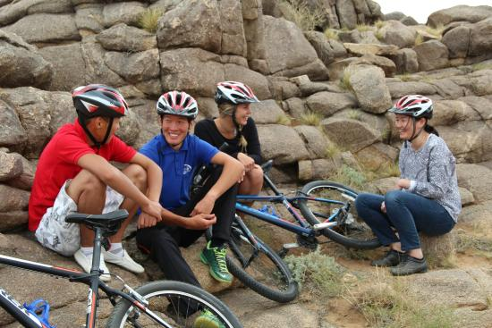 Red Rock Wilderness Camp: Mountain biking
