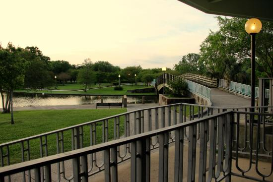 Metairie, LA: The view from the pavilion at sunrise
