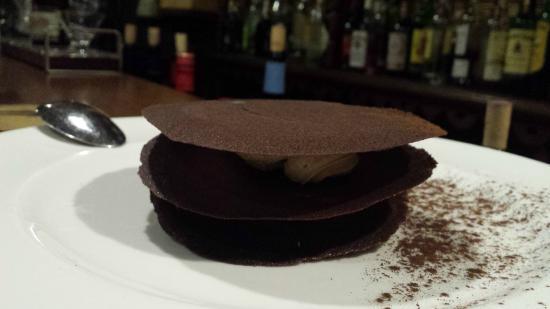 Almocabar: Postre de chocolate