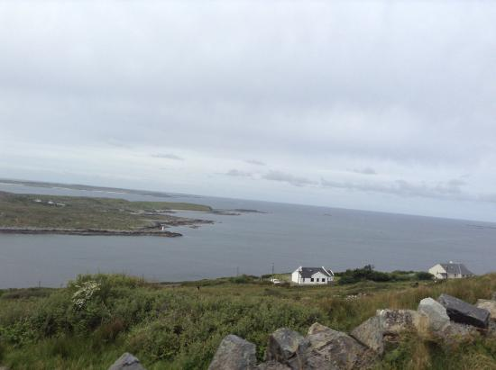 All the Twos: The road west of Clifden - beautiful country!