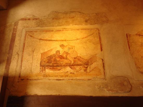 Fresques érotiques de Pompéi