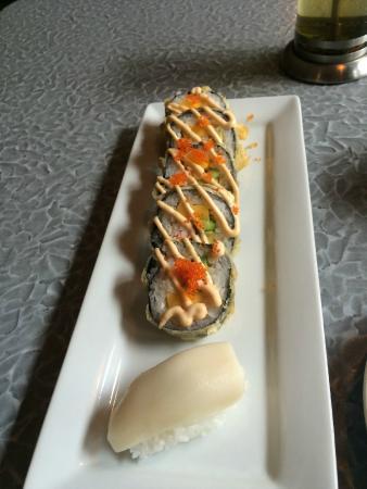 Wasabi Restaurant & Sushi Bistro: Bistro Tempura Roll & Butterfish Negiri