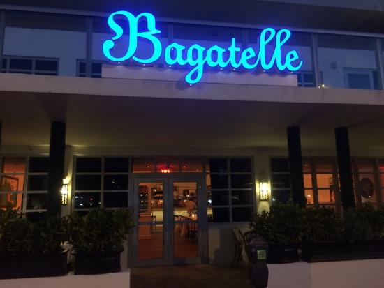 Bagatelle Miami Beach Menu Prices Amp Restaurant Reviews