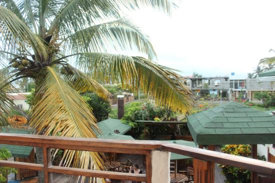 Hotel San Vicente Galapagos: View from the Second Floor