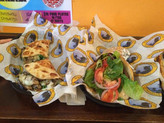 Mediterranean Sandwich Co. : The food available