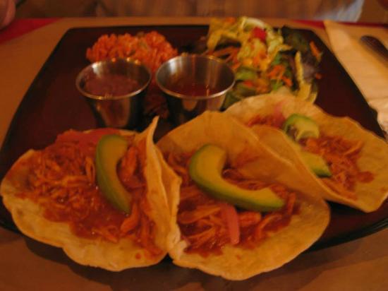Chicken Tinga Tacos Picture Of La Casa Mexicana Quebec City