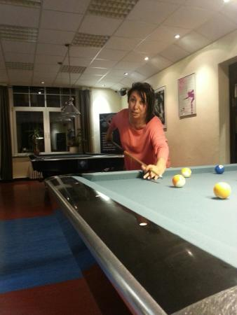 Remscheid, Jerman: Eine runde Billiard��