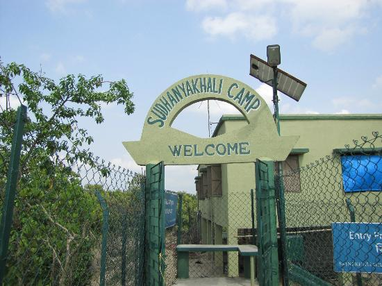 Sundarbans National Park, Indien: Sudhanyakhali Entrance