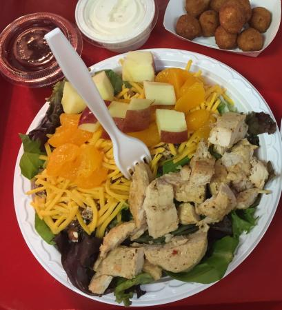 Carter Brother's BBQ & Ribs: One of our gourmet salads