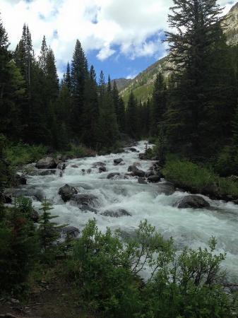 Lake Fork Trail: White water galor