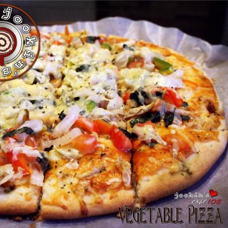 Siniloan, Filipinas: Vegetable Pizza