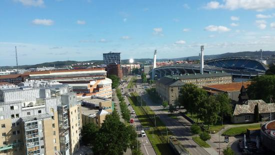 Scandic Hotel Opalen: A Beautiful view at the 9th floor