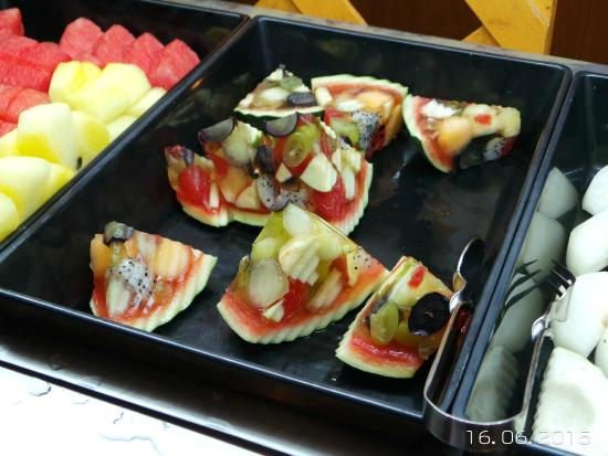 fresh fruit buffet picture of bangkok sky restaurant bangkok rh tripadvisor in
