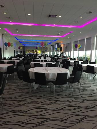 Salford City Stadium: Before guests arrived..