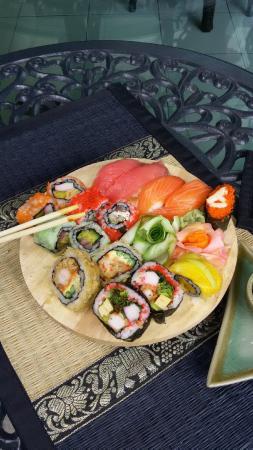 Jamin Cafe': sushi doppio