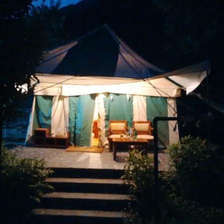 Banjara C& u0026 Retreat - Sangla Valley C& Swiss Tent & Swiss Tent - Picture of Banjara Camp u0026 Retreat - Sangla Valley ...