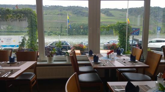 Lindenhof: uitzicht vanuit het restaurant