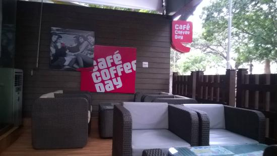 Cafe Coffee Day: Seating Arrangement